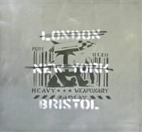 london, new york, bristol (heavy weaponry) by banksy