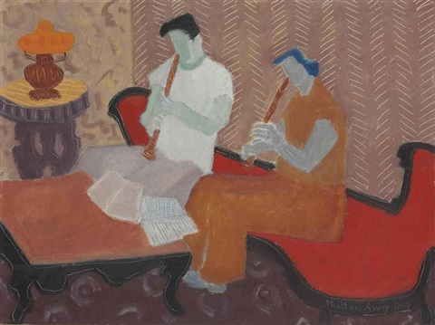 the musicians by milton avery