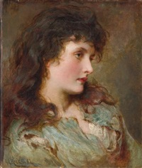 maud muller by george elgar hicks