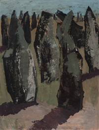 bretagne, dolmen by jan van heel