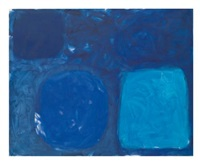 blue painting: august by patrick heron