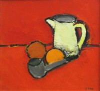 still life with pipe by ion pacea