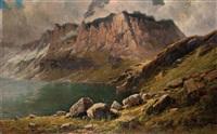 lago d'avino con monte leone by federico ashton