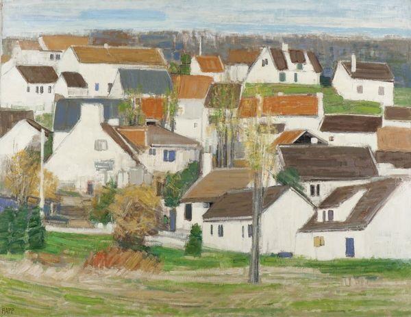 paysage de seine et marne by ginette rapp