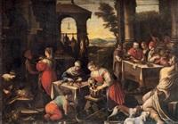 lazare et le mauvais riche by bassano