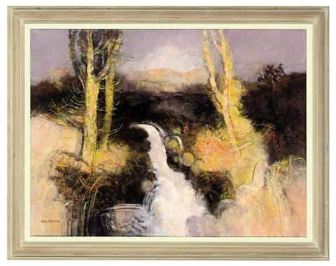 heron water ettrick forest by john scorror oconnor