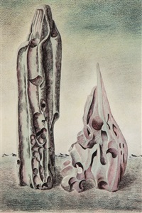 surrealist forms by john banting
