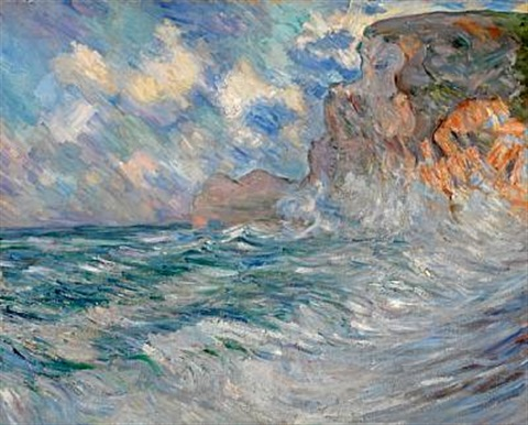 cliffs at etretat by lilla cabot perry