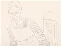 nurse by jeanne mammen