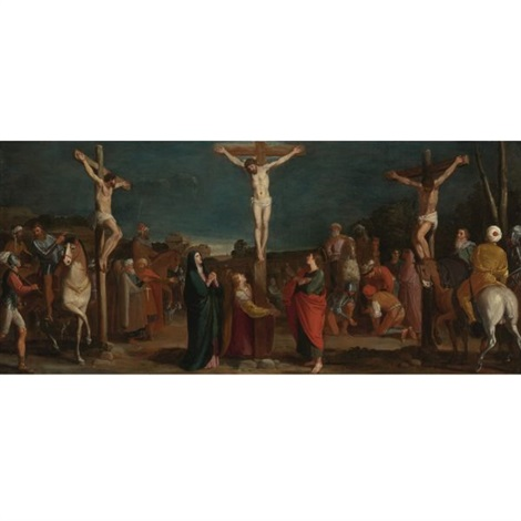 crucifixion with thieves by bartolome carducho carducci