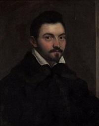 portrait du peintre girolamo nanni by ottavio maria leoni
