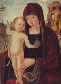 madonna and child by gian-francesco de maineri