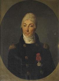 portrait de l'adjudant général delotz by roqué