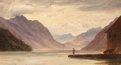 fjordlandskap fra meiringen i sveits by thomas fearnley