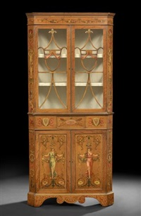 corner cupboard by robert adam