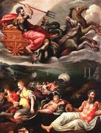 allégorie des dieux de la mer by vincent sellaer