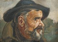 głowa starca by vlastimil hofmann