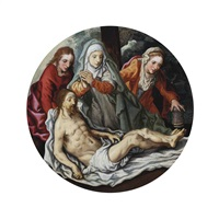 the lamentation by pieter aertsen