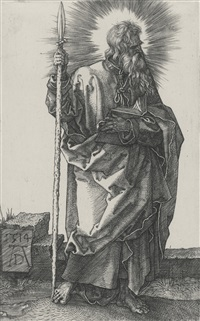 saint thomas by albrecht dürer