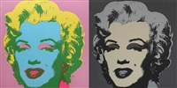 double marylin by andy warhol