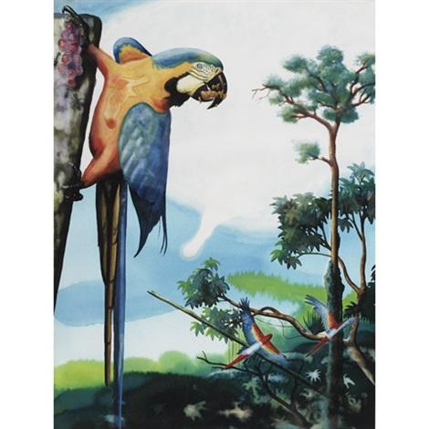 parrot by alexis rockman