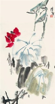 荷花 by jia haoyi