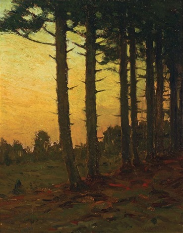 under the pines by charles warren eaton