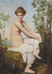 La baigneuse, 1865