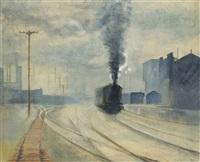 the railway by derek hill