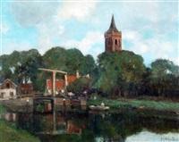 paisaje de holanda by jacques witjens