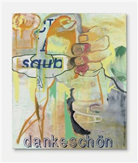 ohne titel (aus der serie fred the frog) (untitled (from the fred the frog series)) by martin kippenberger