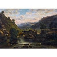 alpenlandschaft by alexandre calame