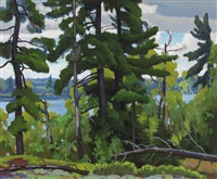 northern ontario lake by frederick stanley haines