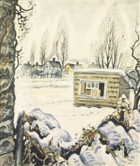 winter by charles ephraim burchfield