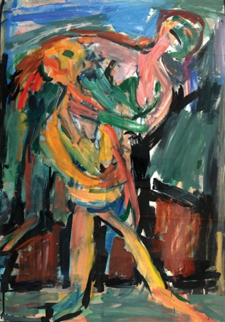 couple by pinchas litvinovsky