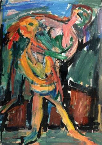 couple by pinchas litvinovsky