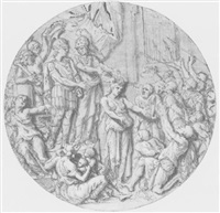 triomphe d'un général romain by jean-baptiste corneille