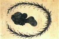 charlotte buff, nach links blickend (silhouette in     liebeskranz) by johann wolfgang von goethe