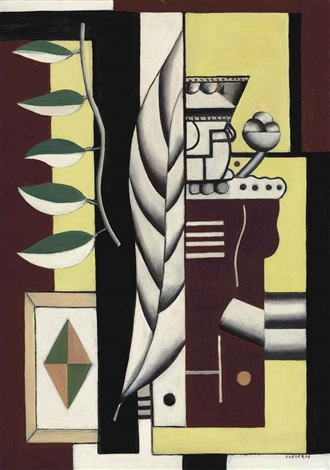 nature morte au roi de cartes by fernand léger