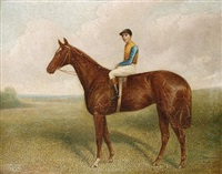 pretty polly with jockey up by sydney r. wombill