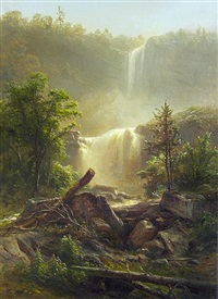 kaaterskill falls by herman fuechsel