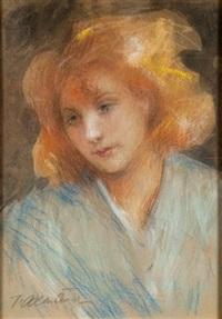 portret dziewczyny by teodor axentowicz