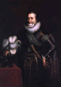 portrait de henri iv en armure by jacob bunel