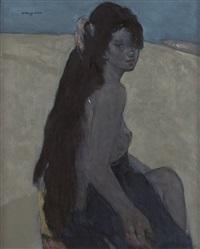 woman (여인) by kwon okyun