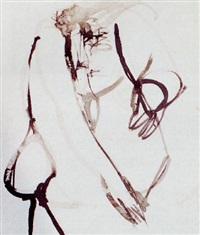 desnudo de frente en cuclillas by julio martinez howard