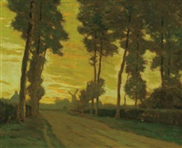 flemish highway by charles warren eaton