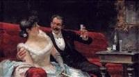 la coupe de champagne by josé llaneces