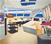 jackie's cabin on the christina o by dexter dalwood