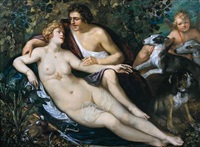 venus and adonis by frans badens the elder