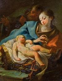 heilige familie by josef ignaz mildorfer